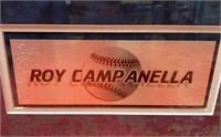 N - ROY CAMPANELLA 16X20 COLOR SIGNED PHOTO W/COA