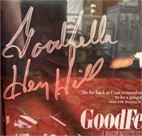 N - HENRY HILL SIGNED/NUMBERED GOODFELLAS W/CERT