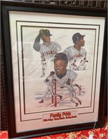 FAMILY PRIDE LITHO SIGNED BY BOBBY;BARRY & WILLY