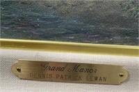 N - SIGNED GRAND MANOR BY DENNIS PATRICK LEWAN