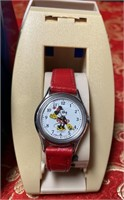 N - LOT OF 3 VINTAGE DISNEY MICKEY MOUSE WATCHES