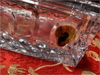 N - WATERFORD CRYSTAL NAPKIN HOLDER