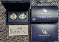 2013 AMERICAN EAGLE TWO-COIN SILVER SET (27)
