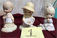 11 - LOT OF 3 PRECIOUS MOMENTS FIGURINES (1)