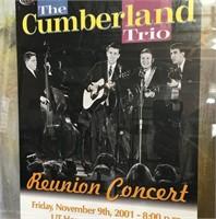 335 - FRAMED THE CUMBERLAND TRIO REUNION CONCERT