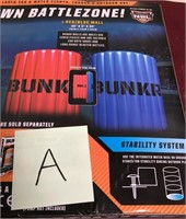 11 - NEW BUNKER BATTLE ZONES INFLATABLE GAME FIELD