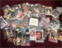 314 - LOT OF BASKETBALL CARDS (18)