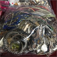 11 - HUGE LOT OF MIXED COSTUME JEWELRY