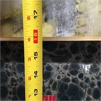 43 - NEW WMC BLACK GLASS TRAY