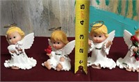 11 - LOT OF 4 ADORABLE ANGEL DECOR