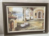 11 - BEAUTIFUL FRAMED STORE FRONT WALL ART