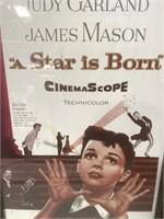11 - FRAMED JUDY GARLAND IN A STAR IS BORN