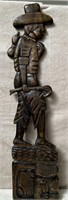 11 - CARVED WOOD WALL DECOR