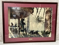 11 - FRAMED WALL ART FROM MIRAGE HOTEL