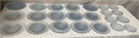 11 - LOT OF 23 GLASS PLATES