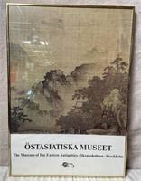 11 - FRAMED OSTASIATISKA MUSEET ART