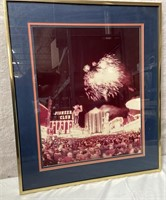 11 - FRAMED PIONEER CLUB CASINO WALL ART