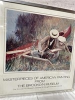 11 - FRAMED MASTERPICE FROM BROOKLYN MUSEUM ART