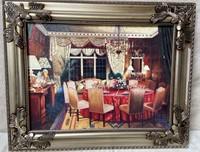 11 - FRAMED FORMAL DINING ROOM WALL ART