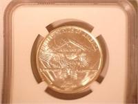 1936 Comm. Silver Arkansas Centennial - Robinson