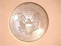 2018 American Eagle, Silver 1 Dollar. 20 QT