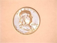 1956 Franklin 50 Cents