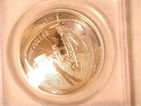 2019 Comm. $1, Silver Apollo 11 50th Anniversary