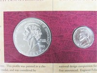 1994 Coinage & Currency Set.
