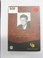 2015 Coin and Chronicles Set Kennedy