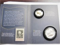 2015 Coin and Chronicles Set Sets Eisenhower