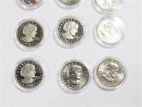12- Susan B. Anthony 1 Dollar Proof,