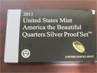 2011 Washington Set America the Beautiful Quarters