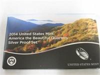 2014 Washington Set America the Beautiful Quarters