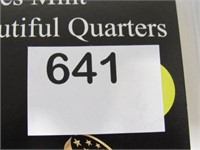2012 Washington Set America the Beautiful Quarters