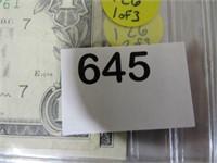 1963 Assortment of Series 1963 B Federal Reserve