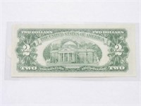 1963A Series 1963 United States Note 2 Dollars