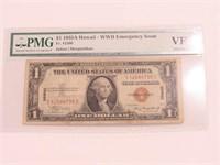 1935A Silver Certificate 1 Dollar Hawaii