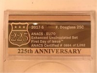 2017 Washington 25 Cents Effigy (10 Sets)