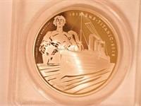 2012 Alderney 5 BRP Silver