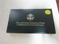 1999 Comm. $1, Silver 1 Dollar Yellowstone, Proof