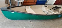 14' Canoe. Wide Body Made by Johnson Sports