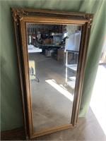 21x42in framed mirror