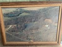 Pin oak farm 1992 photo 35x25in