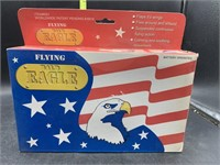 Flying bald eagle - battery operated