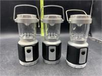 3 mini lanterns