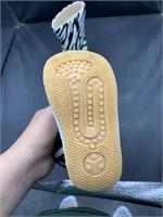 Zebra squeaky boots, squeak when step, size 2