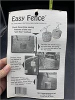 Easy fence - new