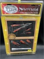 Sheffield 6 piece multi function tool kit