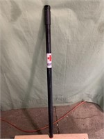 New push broom with extending pole