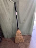 New corn husk broom with extending pole